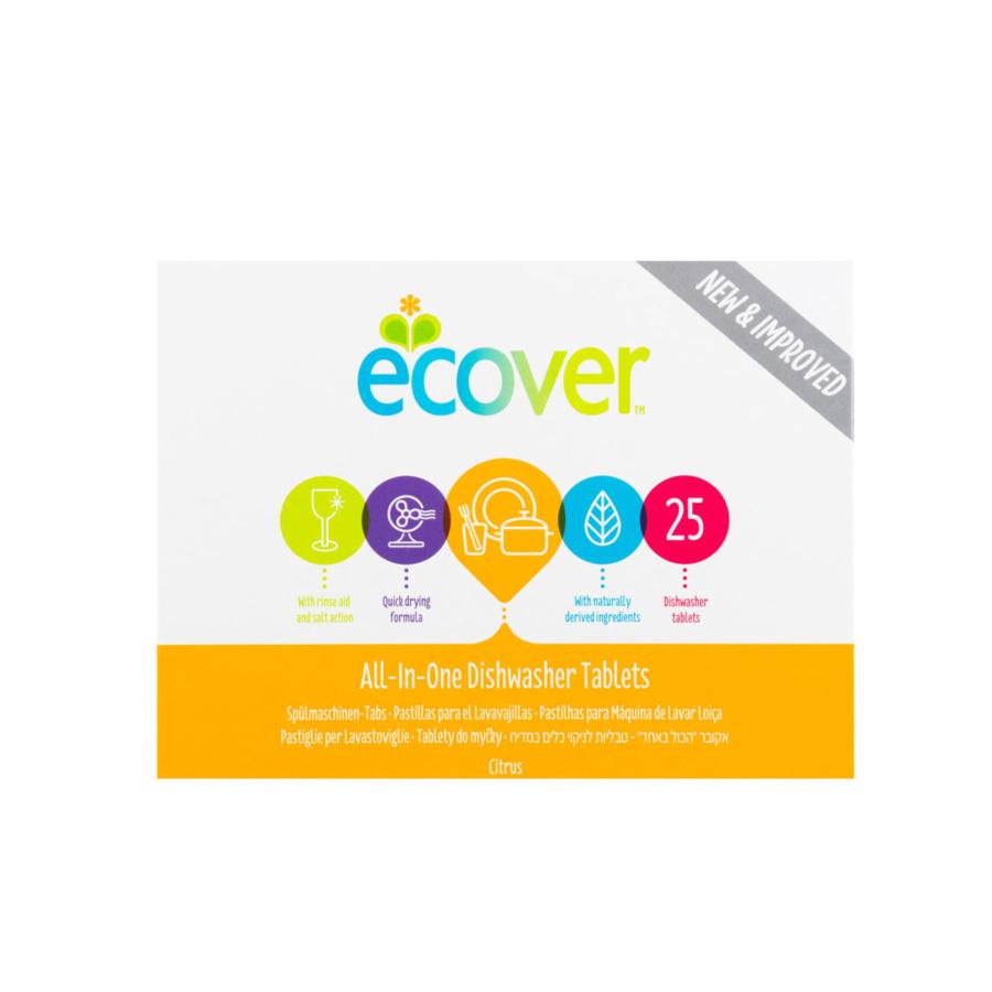 Ecover tablety do myčky All-In-One 25ks
