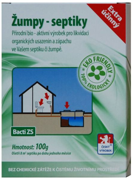 Baktoma Žumpy-septiky Bacti ZS 100g