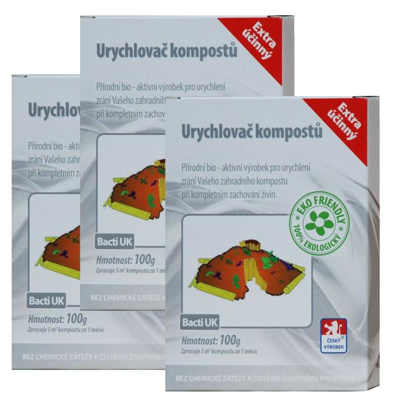 Baktoma Urychlovač kompostu Bacti UK 100g 2+1