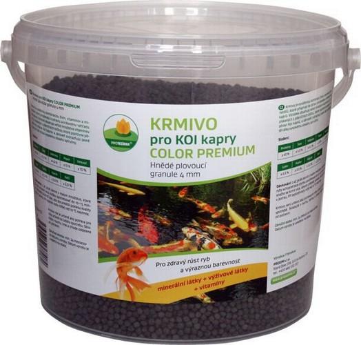 Proxim KOI color premium 5l hnědé plovoucí granule